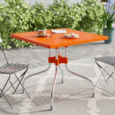 Buerger Folding Bistro Table by Latitude Run Modern