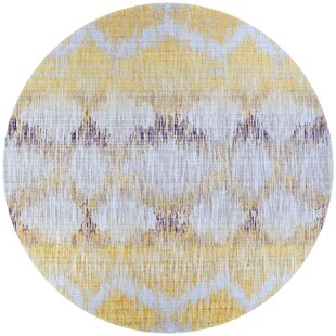 Beyer Gold/Purple Indoor/Outdoor Area Rug