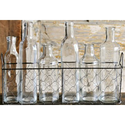 Lark Manor Becker 7 Piece Decorative Bottle Set