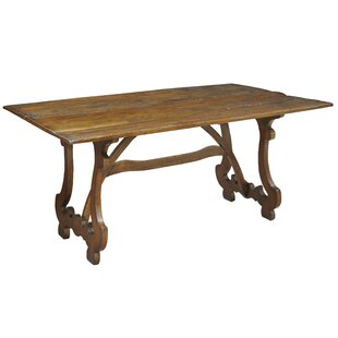 Calambac Solid Wood Dining Table Sarreid Ltd