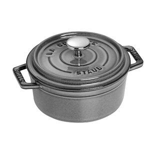 Staub Cast Iron 0.5 Qt. Round Dutch Oven