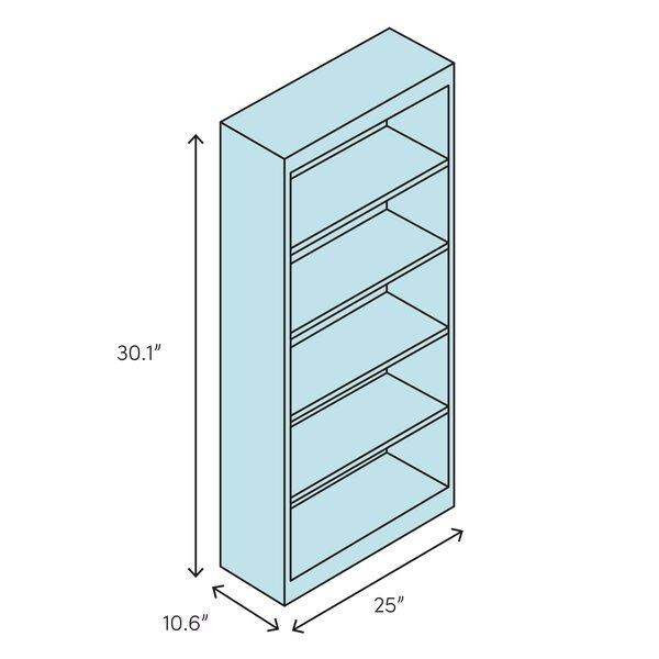 Safavieh Joanna 30 1 H X 25 W Solid Wood Standard Bookcase Reviews Perigold