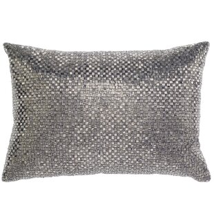 Beadwork Lumbar Pillow