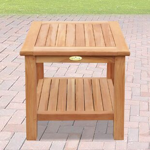 Find for Vada Square Teak Side Table Inexpensive