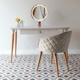Bevins Vanity Set with Stool and Mirror by Corrigan Studio®