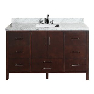 California 60 Single Bathroom Vanity Set by Kitchen Bath Collection