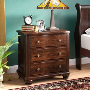 Harrelson 3 Drawer Nightstand by Astoria Grand