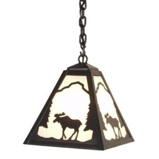 Moose 1-Light Outdoor Pendant