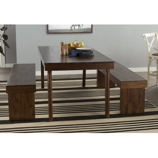 Stodola 3 Piece Dining Set