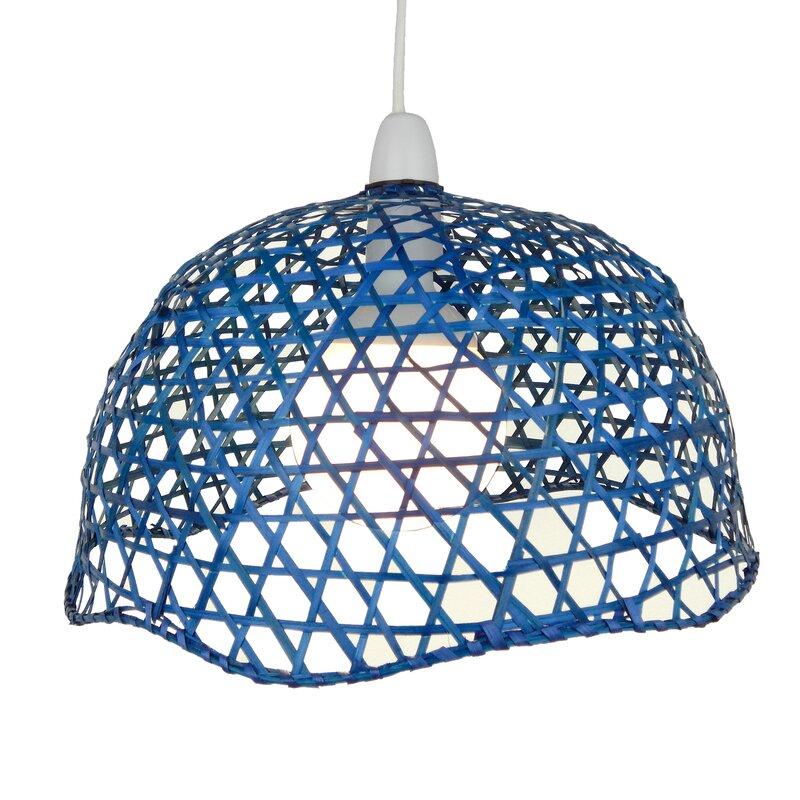 loxton lighting 33 cm lampenschirm aus korbgeflecht bewertungen. Black Bedroom Furniture Sets. Home Design Ideas