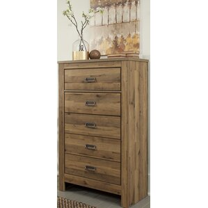 Tozi 5 Drawer Chest by Loon Peak