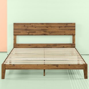 Tara Wood Platform Bed by Union Rustic