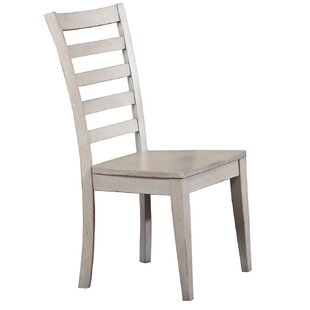 Rutledge Ladderback Solid Wood Dining Chair (Set of 2)