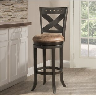 Besni 26 Swivel Bar Stool Loon Peak