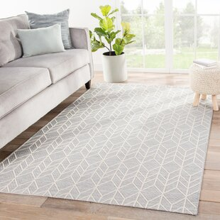 Varennes Chevron Gray/Beige Indoor/Outdoor Area Rug