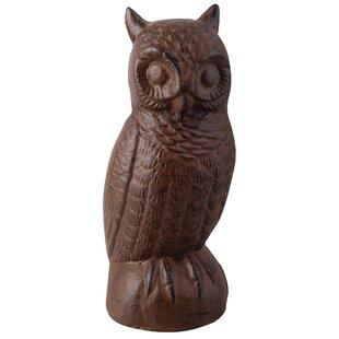 Stone Owl Garden Ornaments Large garden ornaments wayfair statue large owl workwithnaturefo