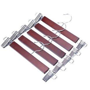 Affordable Wood Skirt/Pants Hanger (Set of 5) ByJ.S Hanger