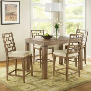 Lyons 3 Piece Counter Height Dining Se..