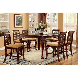 42 inch counter height table wayfair coleman 9 piece counter height pub table set watchthetrailerfo