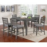 Jarod 7 Piece Counter Height Dining Set by Gracie Oaks
