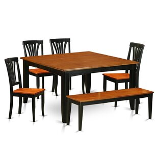 Parfait 6 Piece Dining Set by Wooden Importers Modern