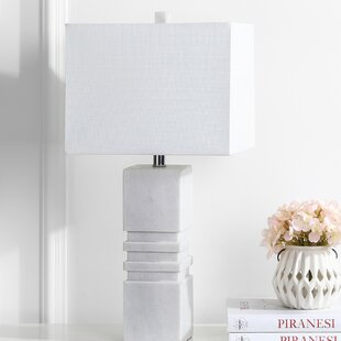 Great choice Reena Marble 27 Table Lamp By Ivy Bronx