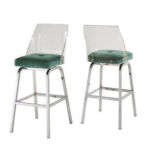 Lonoke 24 Swivel Bar Stool (Set of 2)