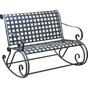 Nocona Scroll Double Patio Rocker