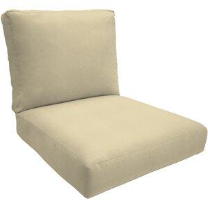 Knife Edge Outdoor Sunbrella Lounge Chair Cushion
