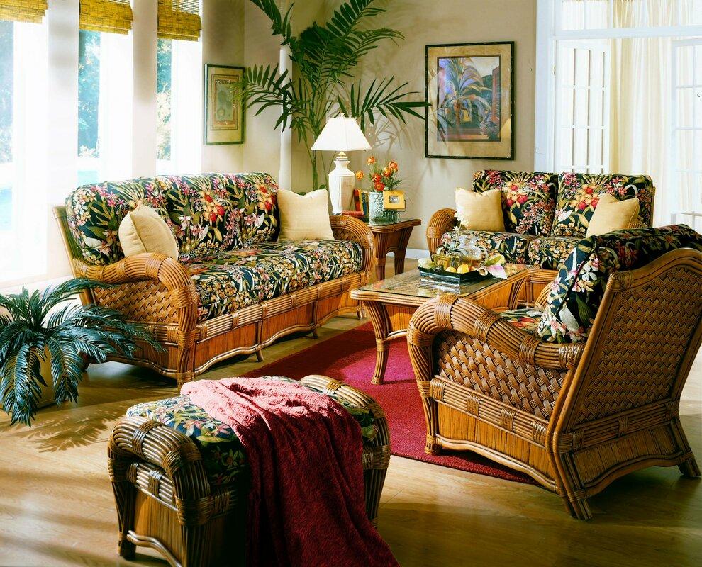 Spice Islands Kingston Reef 6 Piece Living Room Set & Reviews ...