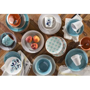 Current 16 Piece Dinnerware Set Service for 4  sc 1 st  Wayfair : organic tableware - pezcame.com