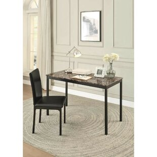 Comparison Tazewell Writing Desk and Chair Set By Winston Porter
