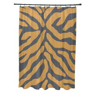 Animal Print Gray Silver Shower Curtains Youll Love