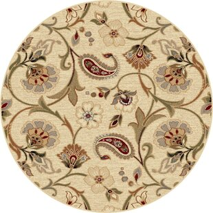 Barbarra Beige Area Rug by Astoria Grand