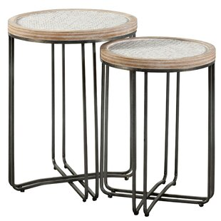 Hughey 2 Piece Nesting Tables