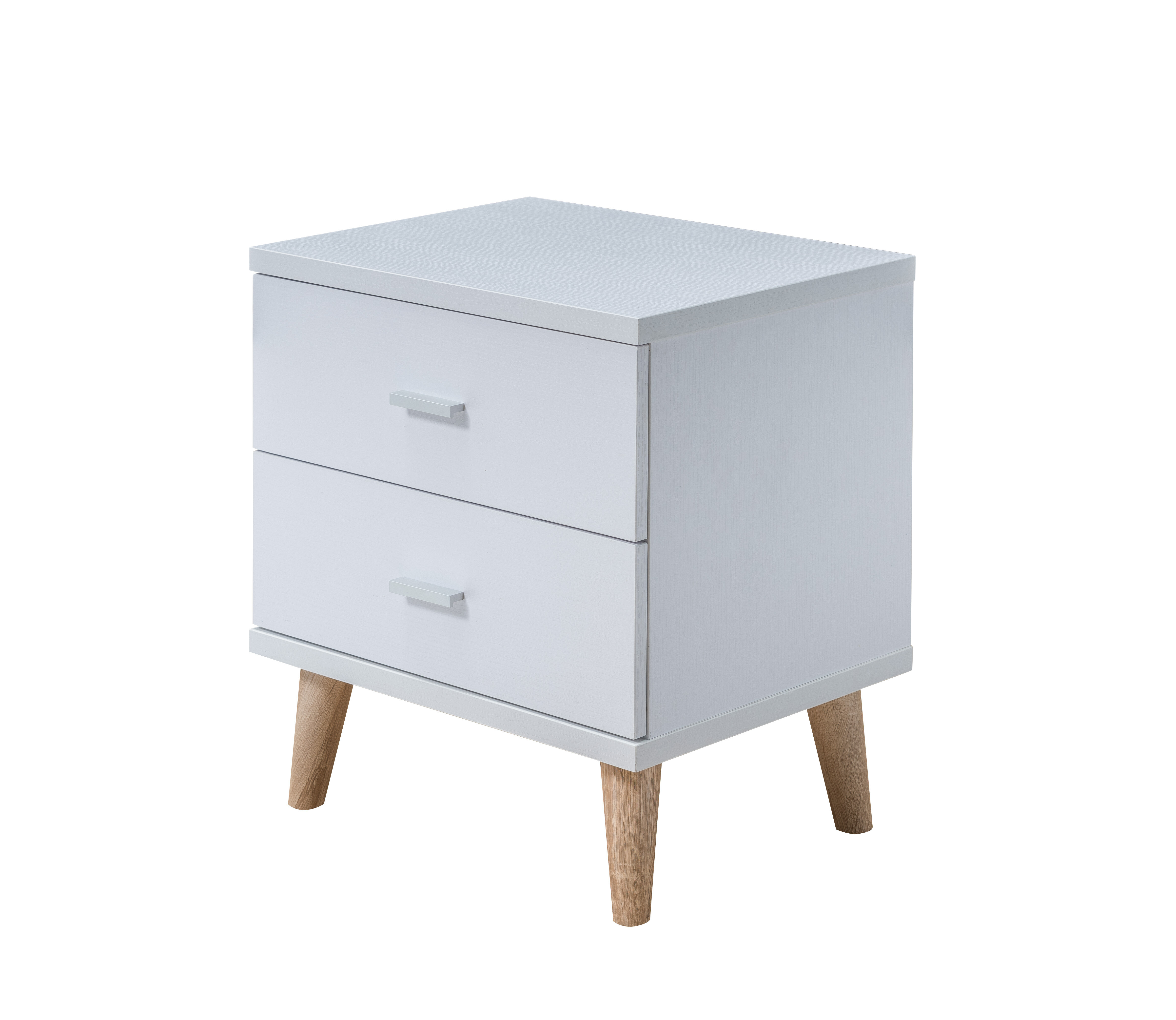 Meggie 2 Drawer Nightstand Reviews Allmodern