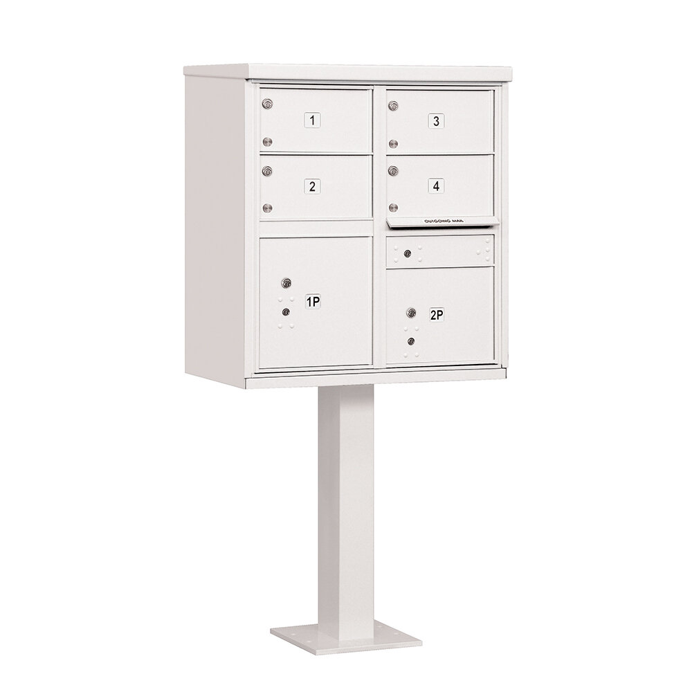 4 6 White Mailboxes You Ll Love In 2021 Wayfair