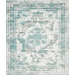 Check Prices Brandt Turquoise Area Rug By Mistana