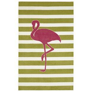 flamingo rug wayfairbrynn fancy flamingo area rug