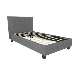 Thornaby Upholstered Platform Bed with Mattress by Ebern Designs
