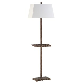 Lamps with a table youll love wayfair satco 63 tray floor lamp aloadofball Image collections