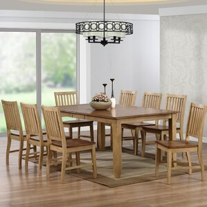 Huerfano Valley 9 Piece Extendable Dining Set by Loon Peak