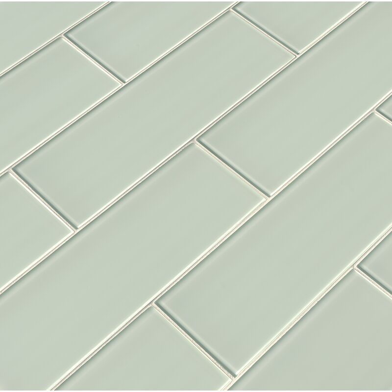 "4"" x 12"" Glass Subway Tile"