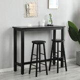 2 Piece 28.15 Bar Stool Set by Latitude Run
