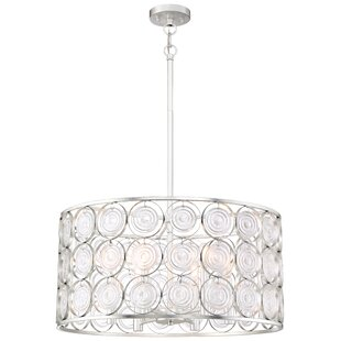 Ladwig 6-Light Drum Chandelier