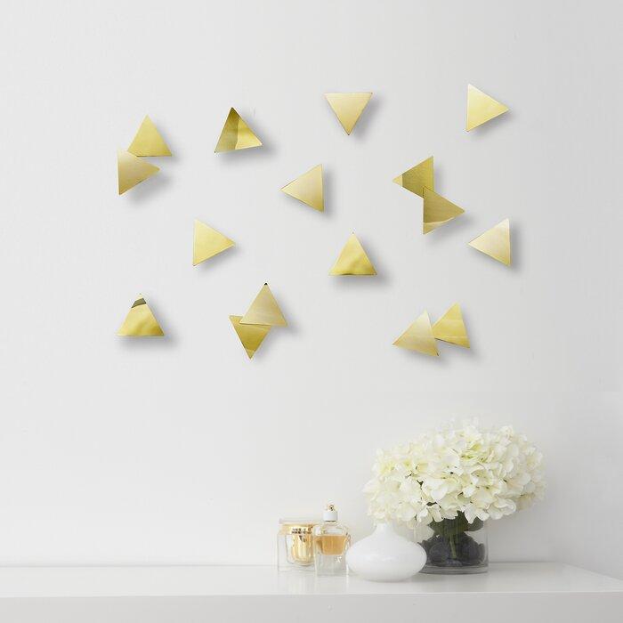 Confetti Triangles Wall Décor