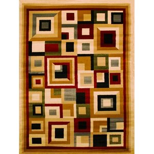 Elif/Passion Beige Area Rug