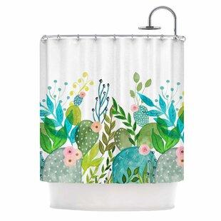 Cute Foliage' Shower Curtain