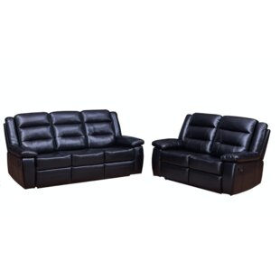 Woodcock 2 Piece Reclining Living Room Set by Red Barrel Studio