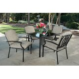 Altura 5 Piece Dining Set with Cushions
